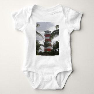 Faro de Bahamas del puerto franco Body Para Bebé