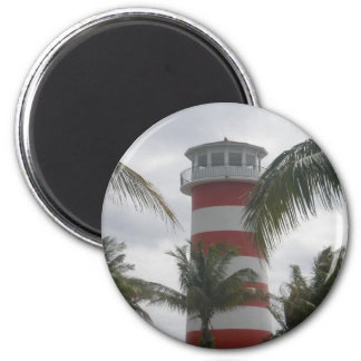 Faro de Bahamas del puerto franco Imán Redondo 5 Cm