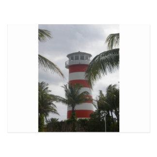Faro de Bahamas del puerto franco Postal