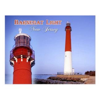 Faro de Barnegat, New Jersey Tarjetas Postales