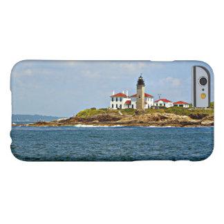 Faro de Beavertail, Rhode Island Funda Para iPhone 6 Barely There