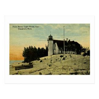 Faro de Betsey del punto cerca de Frankfort Postal