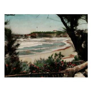 Faro de Biarritz Le Phare Francia Postales
