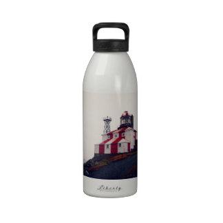 Faro de Bonavista del cabo Botella De Agua Reutilizable