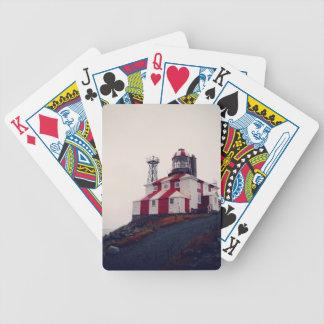 Faro de Bonavista del cabo Baraja Cartas De Poker