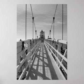 Faro de Bonita del punto, San Fransisco, B&W Impresiones