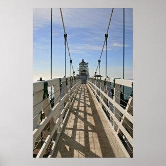 Faro de Bonita del punto, San Fransisco, color Impresiones