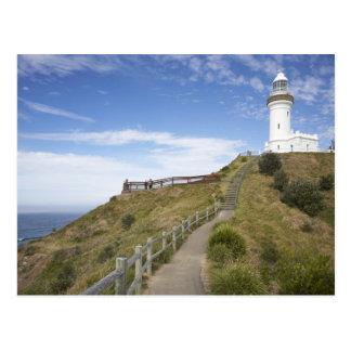 Faro de Byron del cabo, cabo Byron (Australia 2 Tarjetas Postales