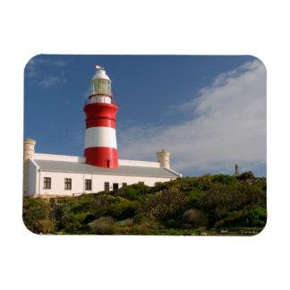 Faro de Cabo Agulhas, Western Cape 3 Imán Rectangular