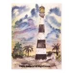 faro de Cabo Cañaveral, luz de Cabo Cañaveral… Tarjeta Postal