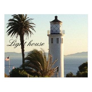 Faro de California Tarjeta Postal
