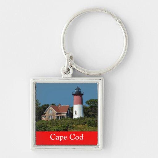 Faro de Cape Cod Nauset, Eastham, llavero del mA