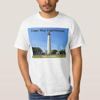 Faro de Cape May, camiseta de New Jersey