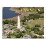 Faro de Cape May, Cape May, NJ Postales