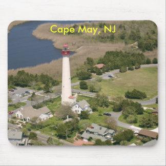 Faro de Cape May, Cape May, NJ Alfombrilla De Raton