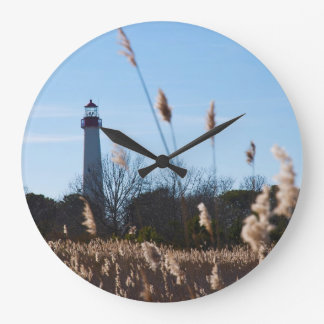 Faro de Cape May Reloj De Pared
