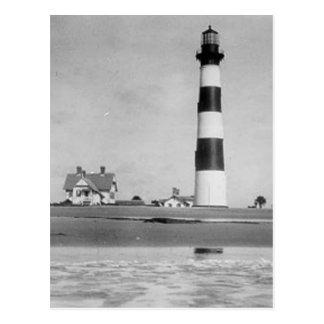 Faro de Charleston Tarjeta Postal
