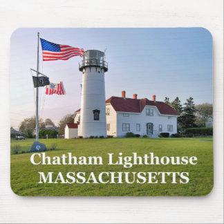 Faro de Chatham Massachusetts Mousepad Tapetes De Ratón