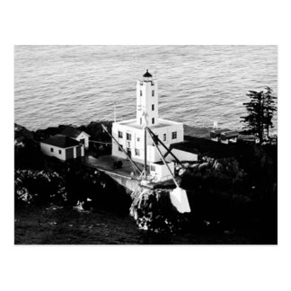 Faro de cinco islas del dedo tarjetas postales