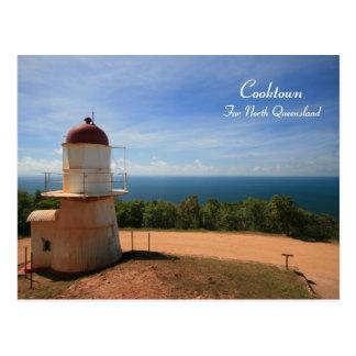 Faro de Cooktown, Queensland - postal