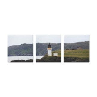 Faro de Escocia Impresión En Lienzo