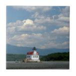 Faro de Esopus en el río Hudson Teja Ceramica