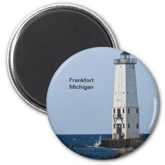 Faro de Frankfort Michigan Iman Para Frigorífico