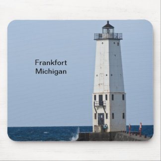Faro de Frankfort Michigan Tapete De Ratones