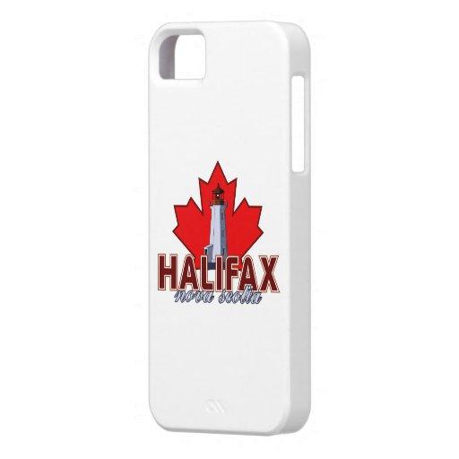 Faro de Halifax iPhone 5 Case-Mate Cárcasa