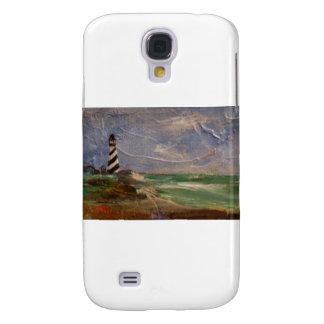 Faro de Hatteras del cabo Funda Para Galaxy S4