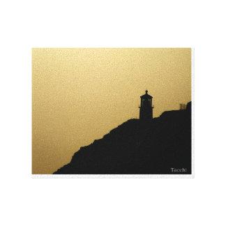 Faro de Hawn en lona Impresión En Tela