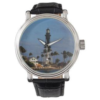 Faro de Hillsboro Relojes De Pulsera