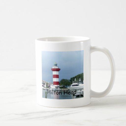 Faro de Hilton Head Tazas