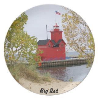 Faro de Holanda Michigan Platos Para Fiestas