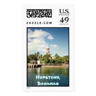 Faro de Hopetown, Hopetown, Bahamas Sellos