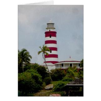 Faro de Hopetown Tarjeta Pequeña