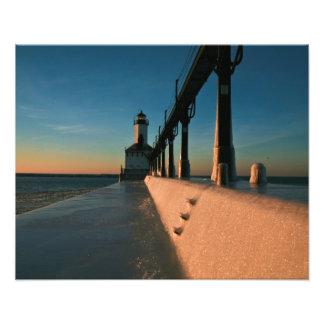 Faro de Indiana Impresiones Fotográficas