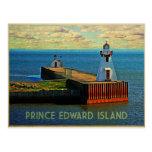 Faro de Isla del Principe Eduardo Tarjetas Postales