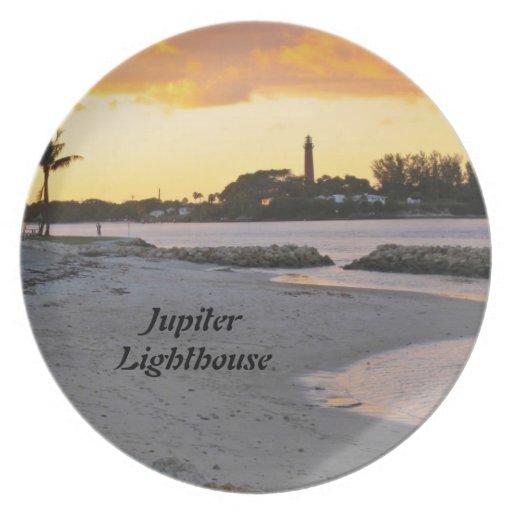 Faro de Júpiter Plato De Comida