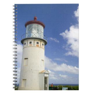 Faro de Kilauea Libros De Apuntes