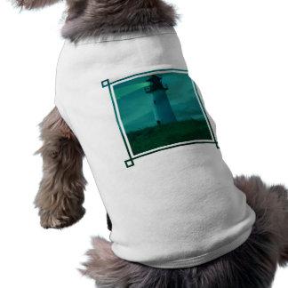 Faro de la camisa ligera del mascota camiseta de mascota