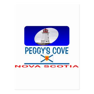 Faro de la ensenada de Peggy Postal