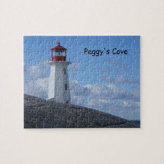 Faro de la ensenada de Peggy Puzzle
