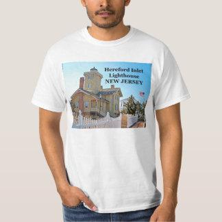 Faro de la entrada de Hereford, camiseta de New Remera