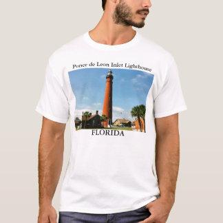 Faro de la entrada de Ponce de León, camiseta de