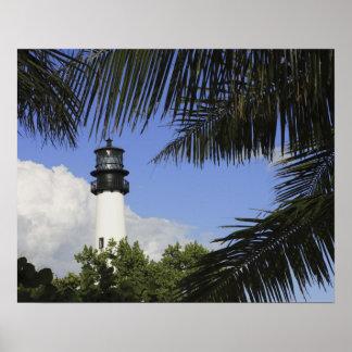 Faro de la Florida del cabo de Bill Baggs, Bill Ba Póster