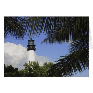 Faro de la Florida del cabo de Bill Baggs, Bill Ba Tarjeta De Felicitación