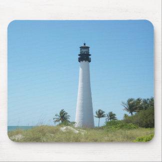 Faro de la Florida del cabo Alfombrillas De Ratones