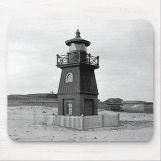 Faro de la gama de la isla de Sullivan Alfombrillas De Raton