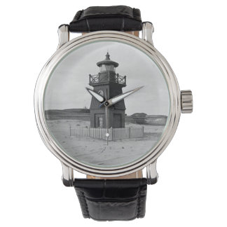 Faro de la gama de la isla de Sullivan Relojes